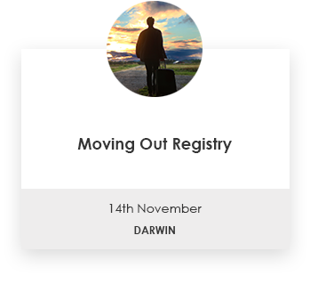Moving Out Registry