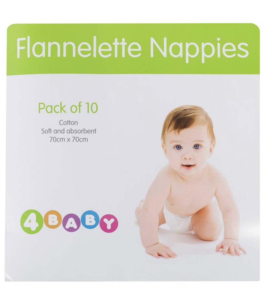 Flannelette Nappies