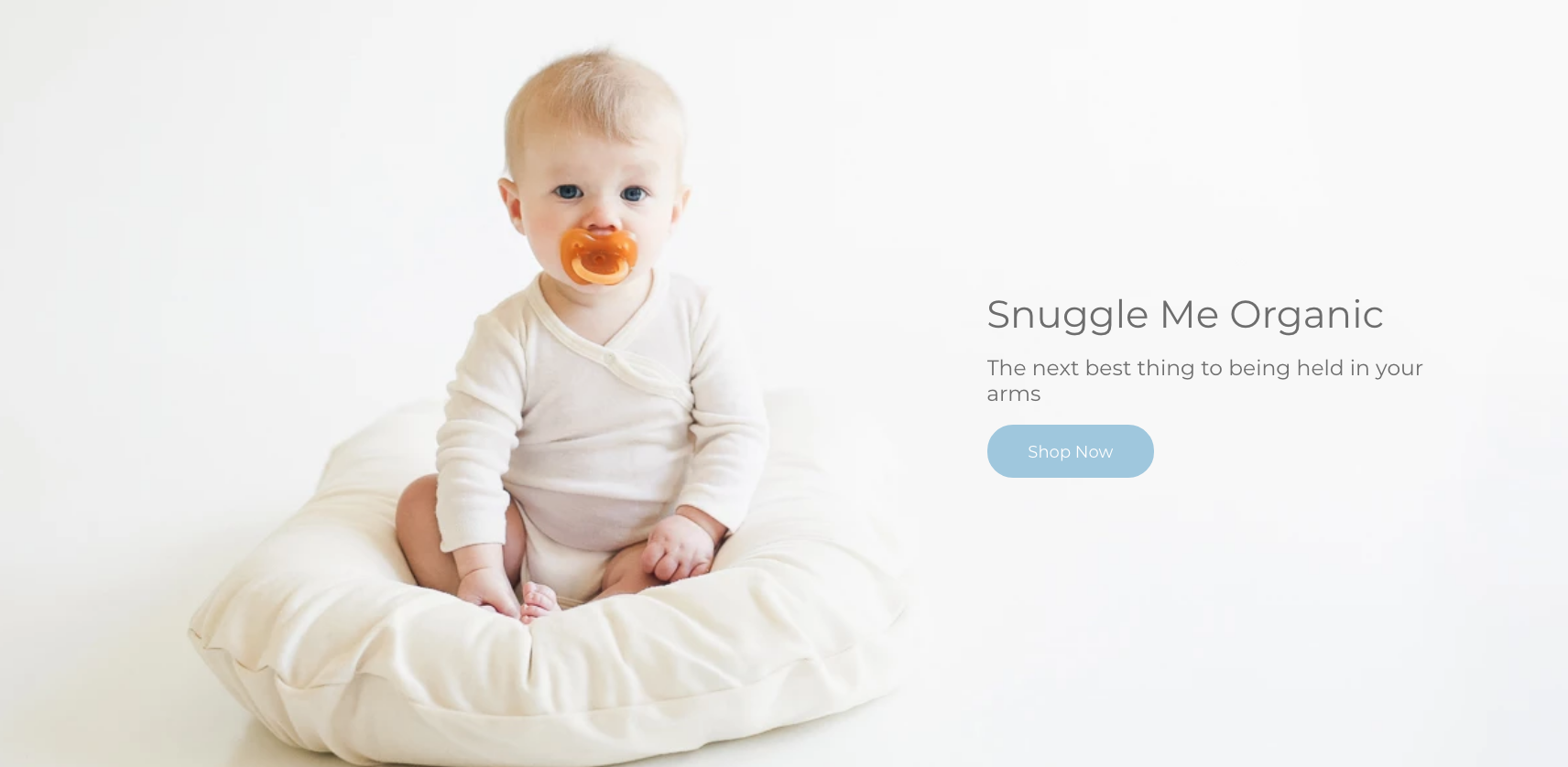 SNUGGLE ME Organic   Baby Lounger