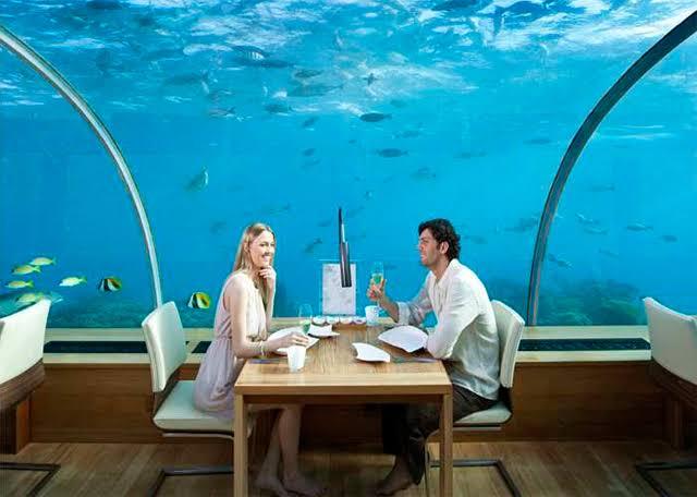 Dinner out - honeymoon