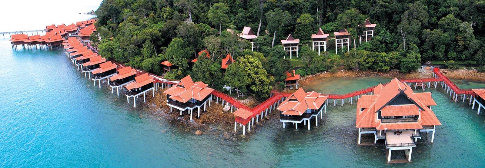 Overwater bungalow in Langkawi