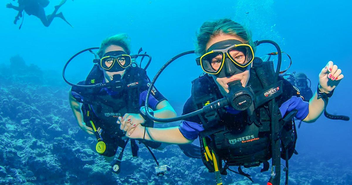 Richelle's scuba diving fund