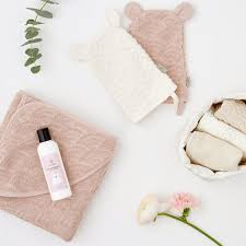 CAM CAM Organic Hooded Towel and Wash Glove