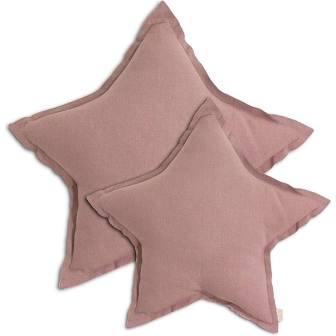 NUMERO 74 Star Cushion Cotton 50cm - Dusty Pink