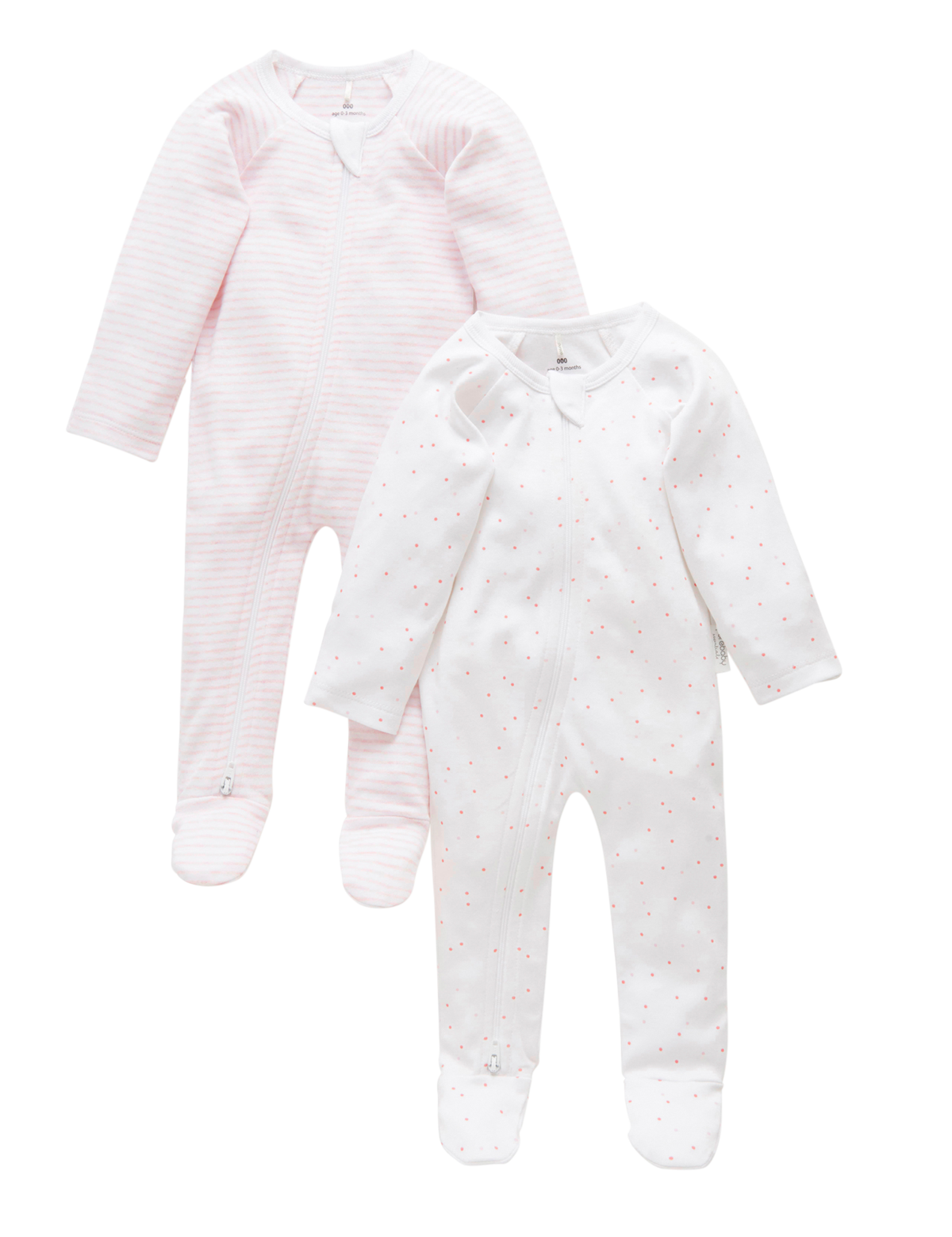 Pure Baby Grow Suit (2 Pack)