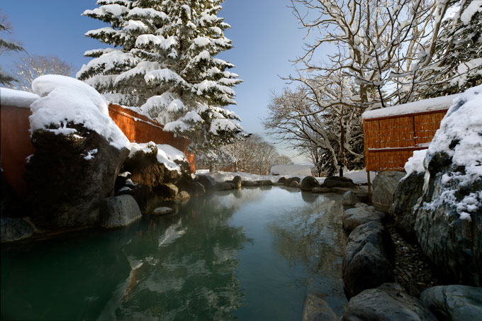 Onsen experience in Japan