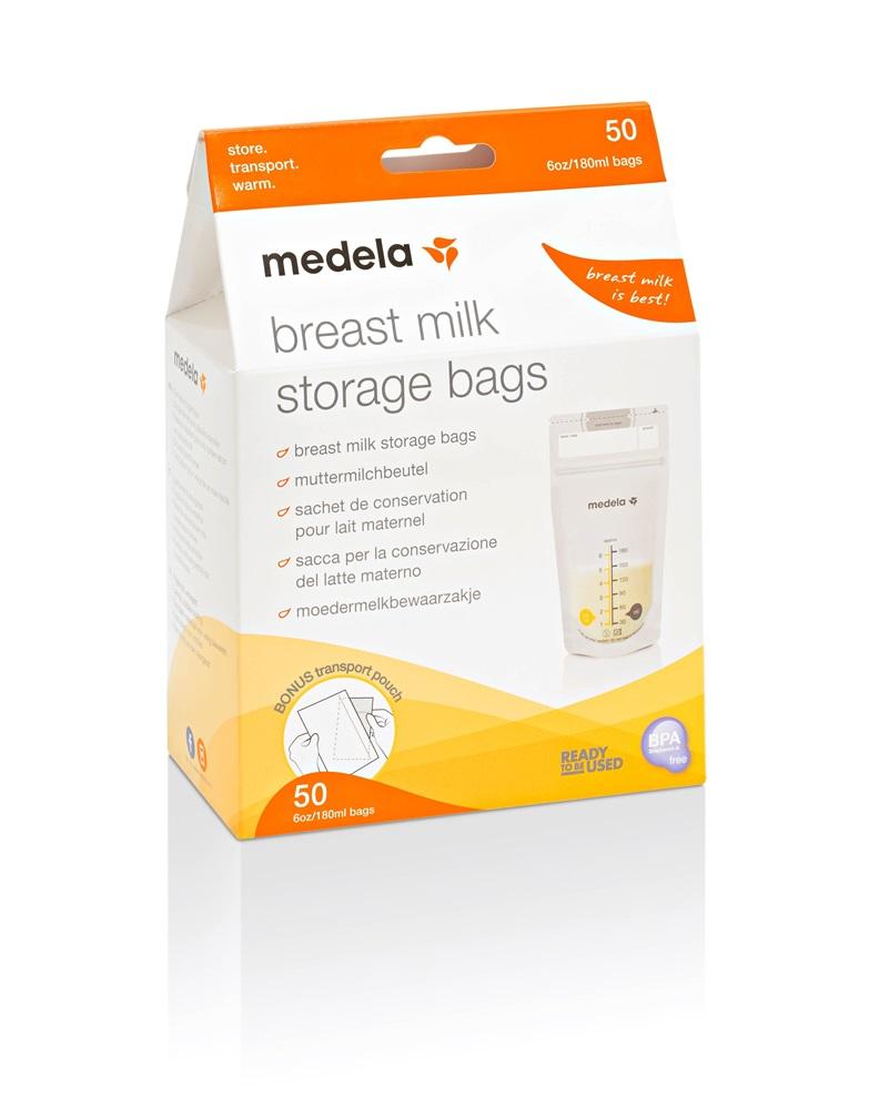 Medela Breastmilk Storage Bags 50 Pack