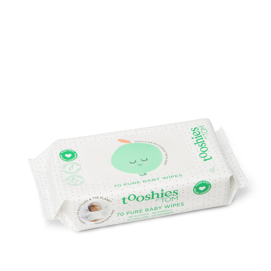 PURE BABY WIPES: MULTI 8 PACK (8 x 70)