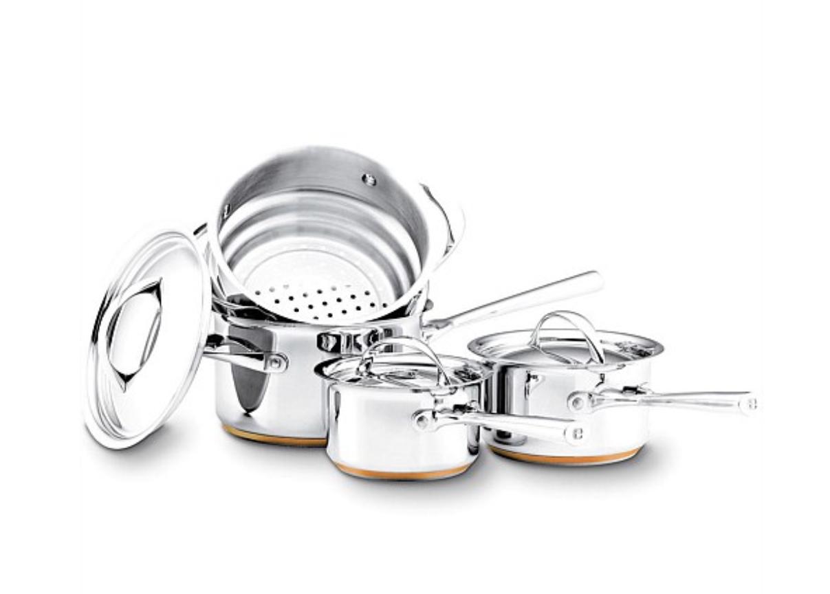 Essteele Stainless Steel 4 Piece Cookware Set