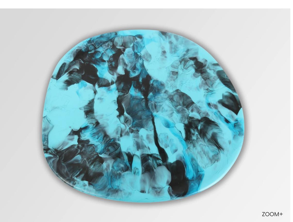 Dinosaur Design Resin Stone Platter