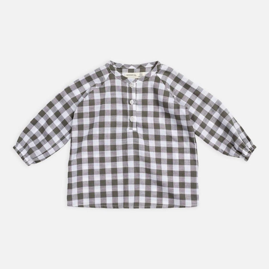 Miann & Co Baby Raglan Long Sleeve Flowy Shirt $40