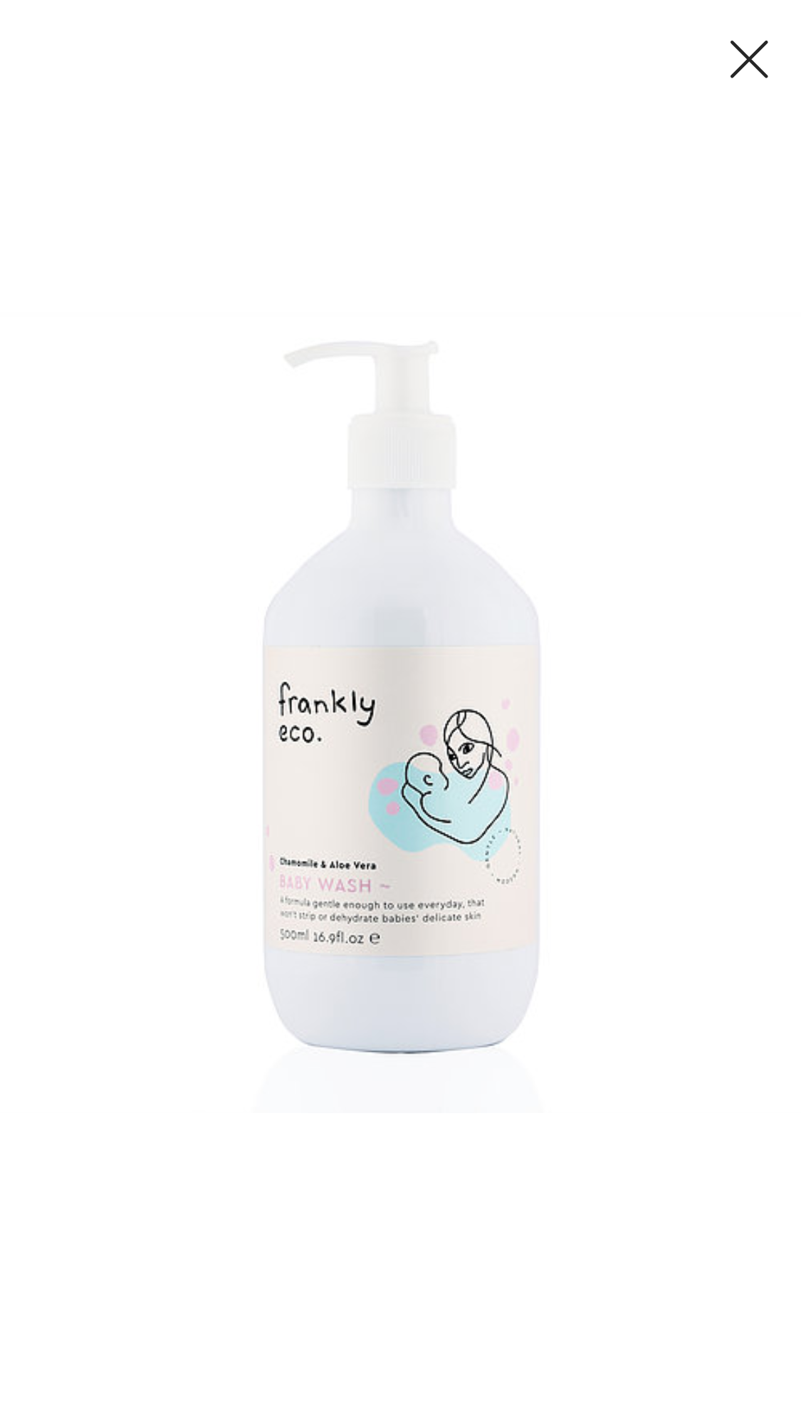 Frankly Eco Baby Wash 500mL $30 each