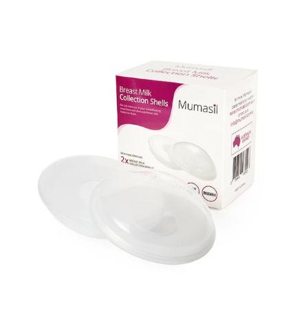 Mumasil Breast Milk Collection Shells $25