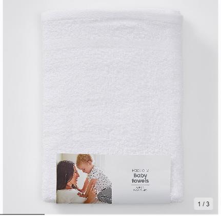 Target Baby 2 pack towels $15 each