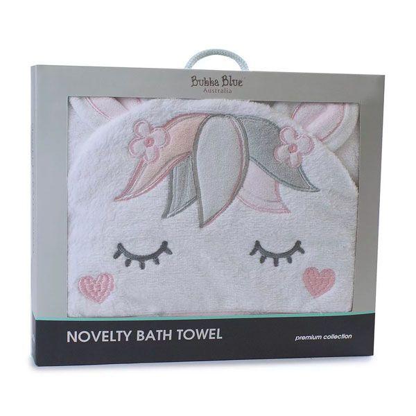 Bubba Blue Unicorn Magic Novelty Bath Towel