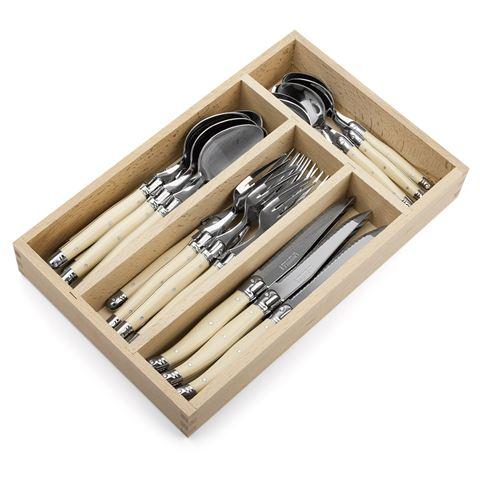 2 x Laguiole Cutlery Set 24pce