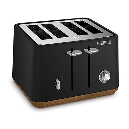 Toaster Morphy Richards Cork Black
