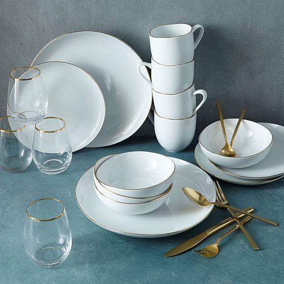 Dinner Set (Plates, Bowls etc.)