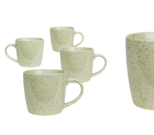 Granite Mug Green Pepper 4pc