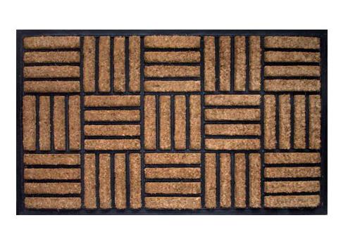 Rubber Criss Cross Doormat