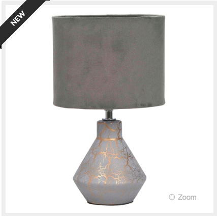 Table Lamp Crackle