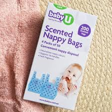 Scented Nappy Bags