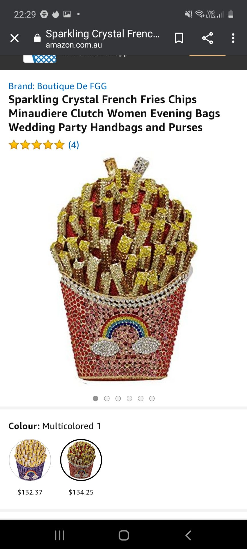 Sparkling Crystal French Fries Chips Minaudiere Clutch Women Evening Bags Wedding Party Handbags and Purses