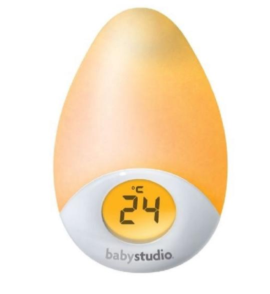 Baby Studio Tear Night Light and Room Temperature Reading