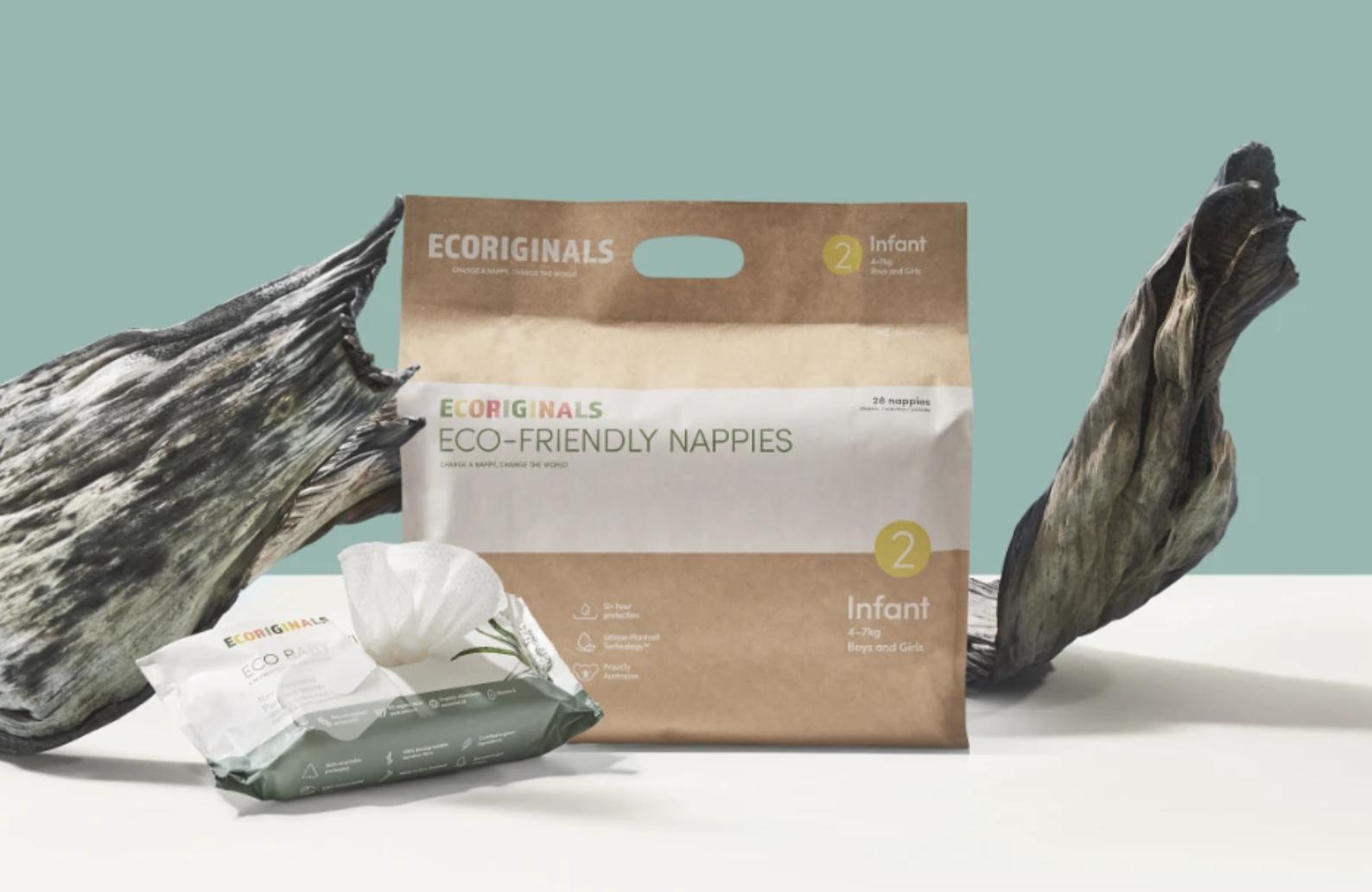 EcoOriginals - 6 Packs of Nappies