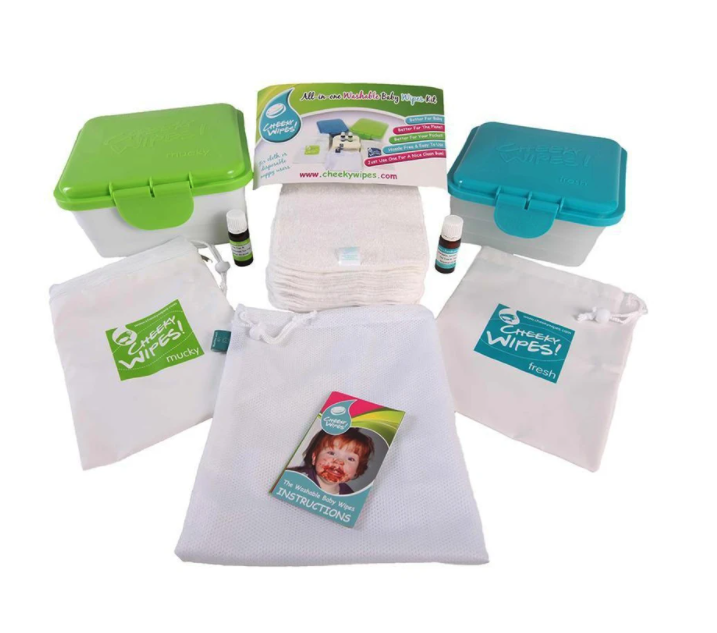 Real Babies - All-in-One Kit Reusable Wipes
