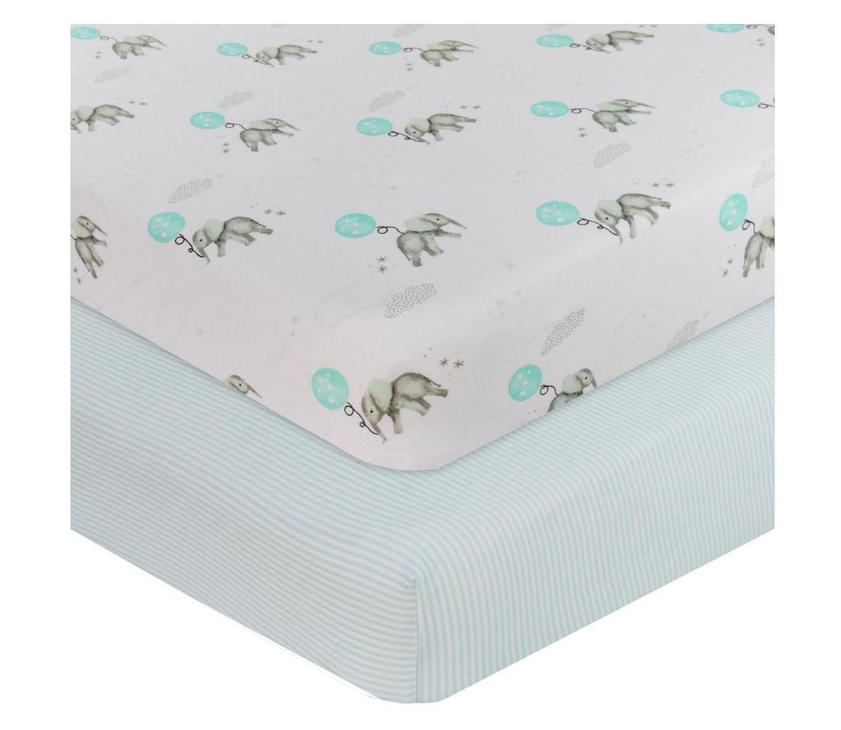 Cot mattress sheets