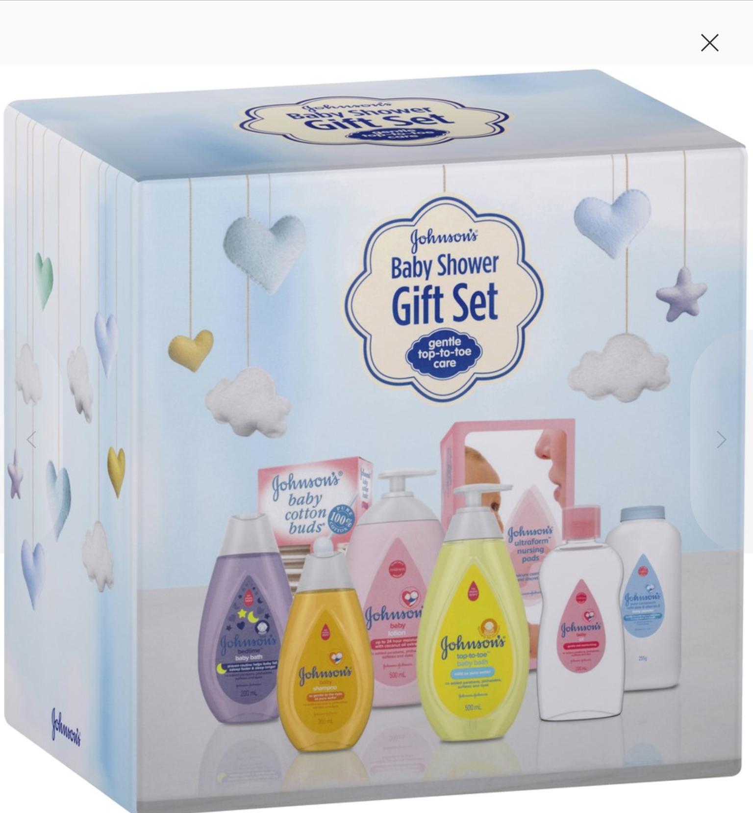 Johnson's Baby Shower Gift Pack