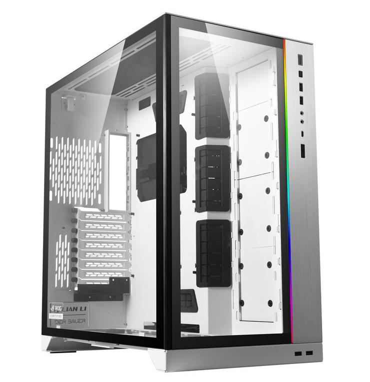 Lian Li PC-O11 Dynamic XL ROG Certified Case White