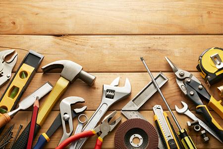 Home maintenance tools