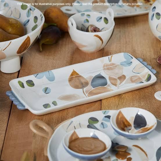 Ecology serve ware, pattered or plain or similar