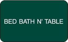 Bed bath n table gift card