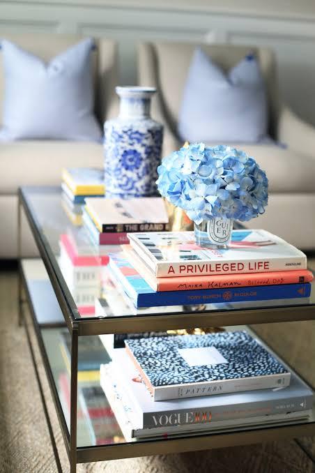 Coffee table books, travel, garden, recipe