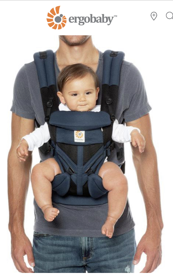 Ergo Baby Carrier All Positions Omni 360 Cool Air Mesh