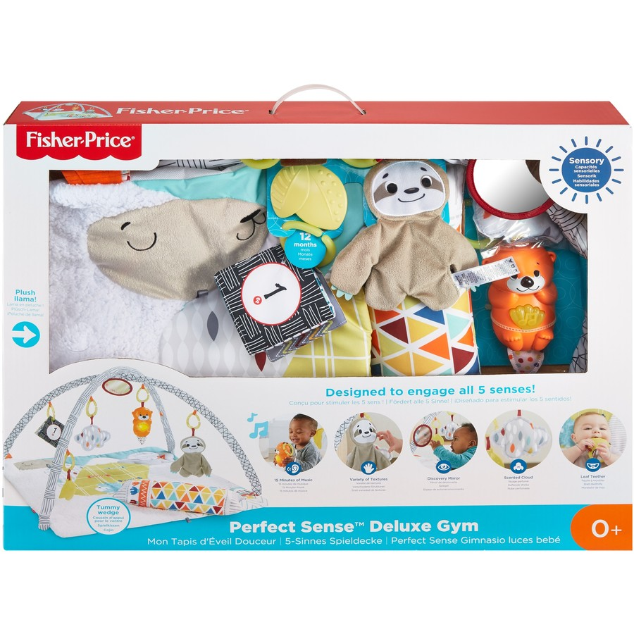 Fisher-Price Perfect Sense Deluxe Gym