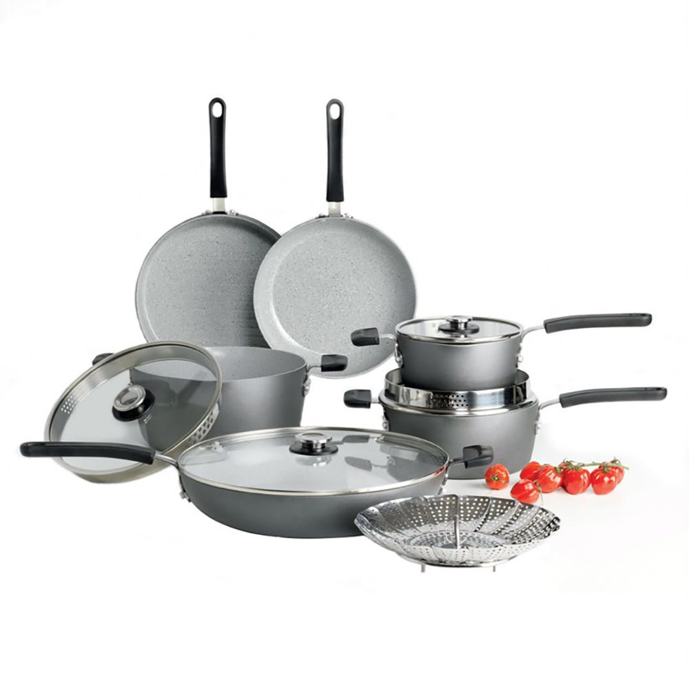 Cuisine::pro Swiss+Tec Compact 10-Piece Cookware Se