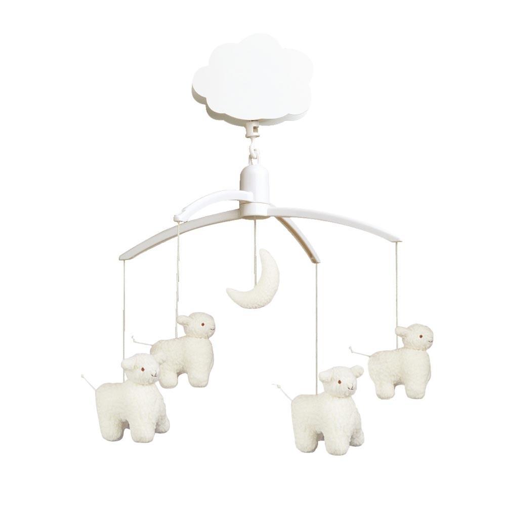 Musical sheep mobile