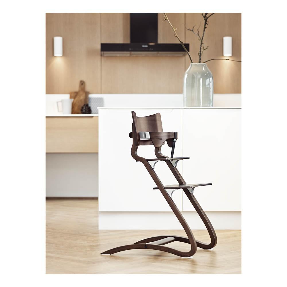Leander walnut high chair