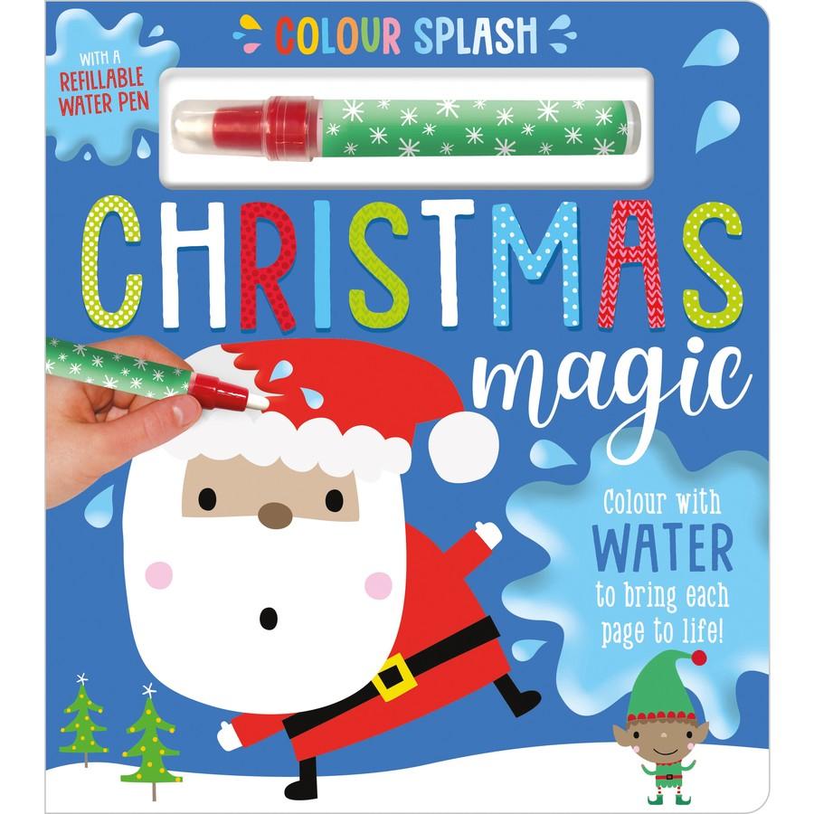 water magic christmas book