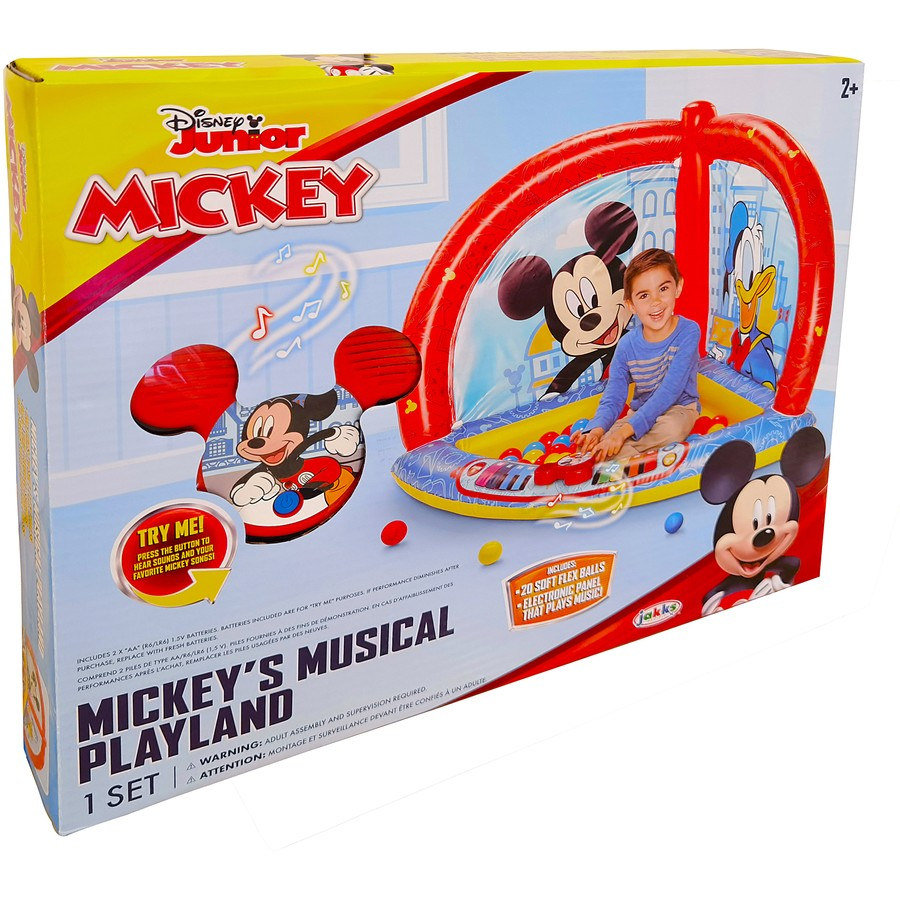 mickey musical ball pit