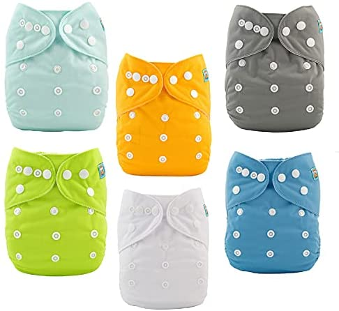 Cloth Nappies with inserts