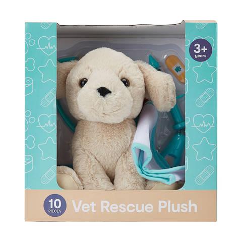 vet rescue plush set