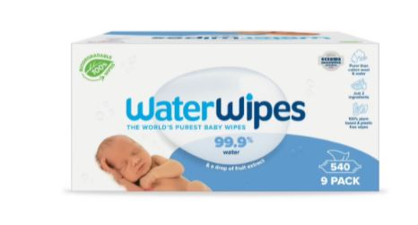 Waterwipes 9x60 pack